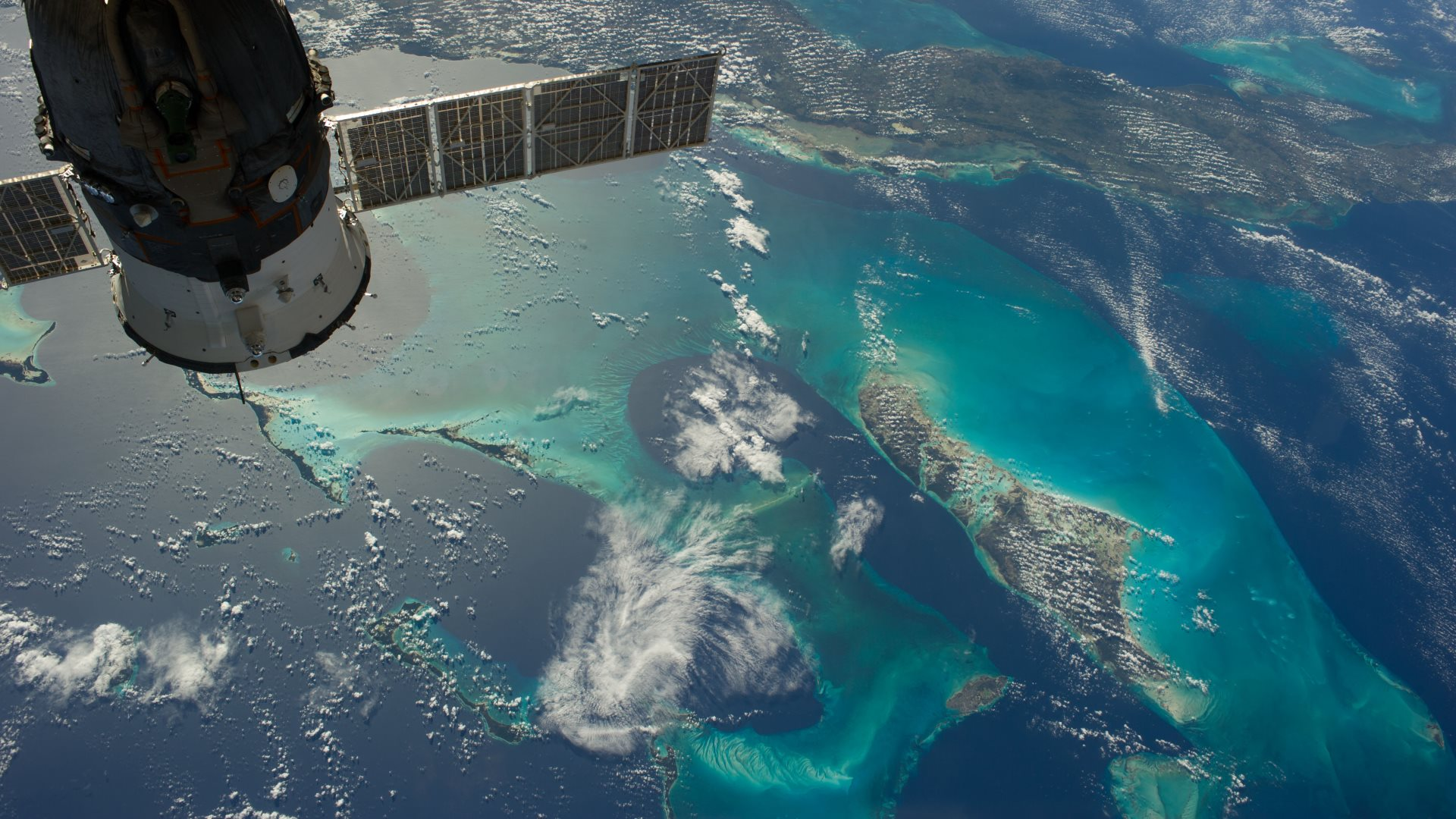 Earth seen from space station Wallpapers HD Wallpapers 1920x1080
