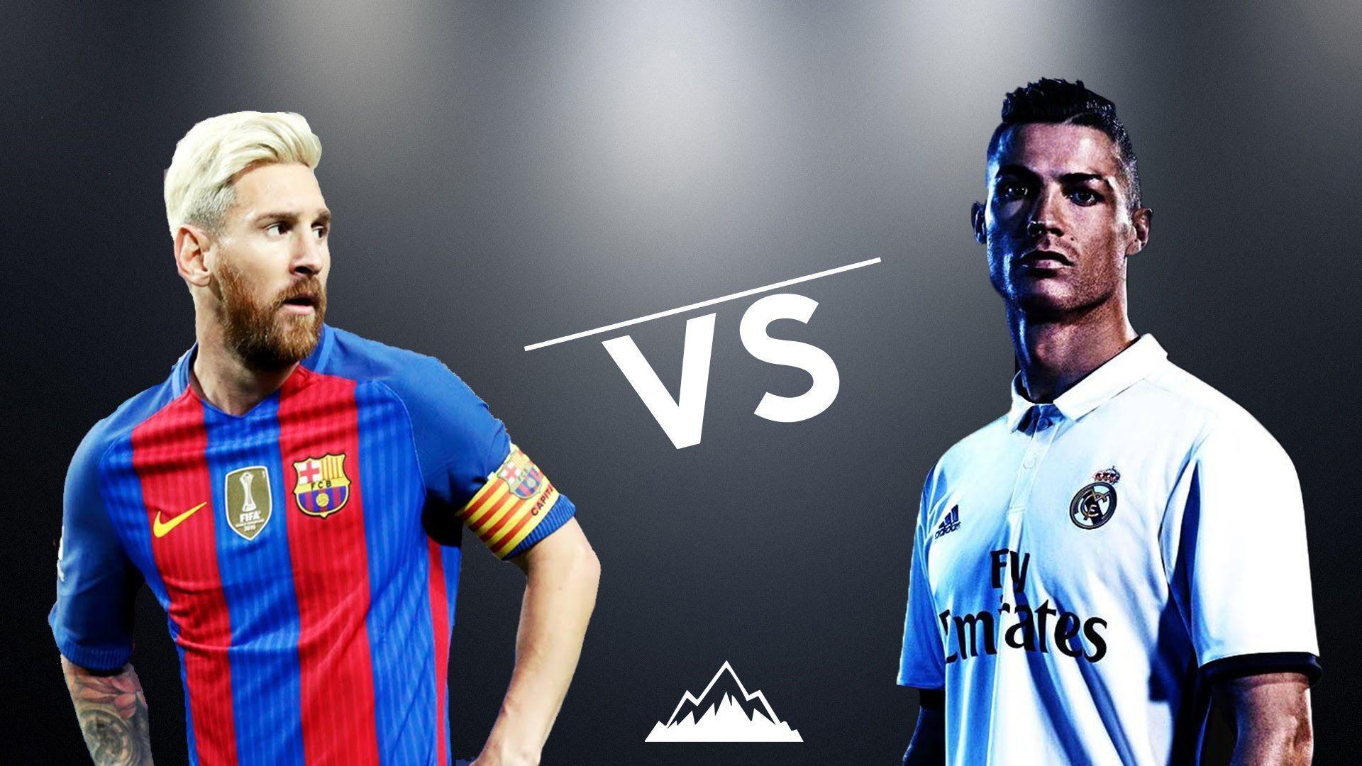 Free Download Cristiano Ronaldo Vs Lionel Messi 2017 Wallpapers