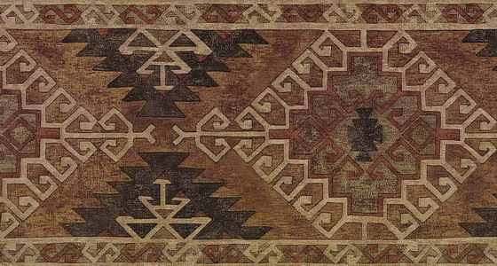 Brown Kilim Wallpaper Border   Lodge Outdoors Wallpaper 560x300
