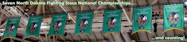 North Dakota Fighting SiouxHockey 640x144