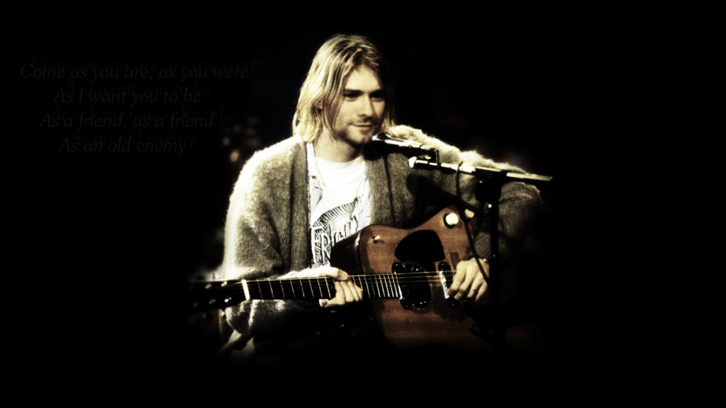 Download Kurt Cobain Desktop pictures in high definition or widescreen 1024x576