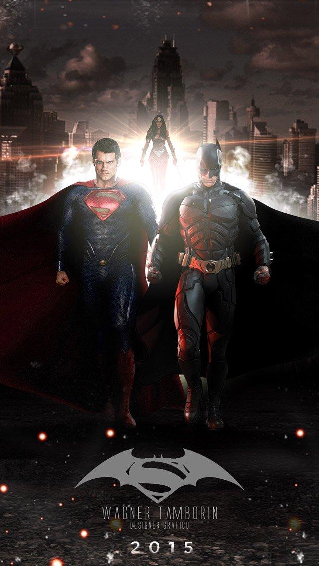 download retina superman vs batman hd wallpaper for iphone iphone 640x1136