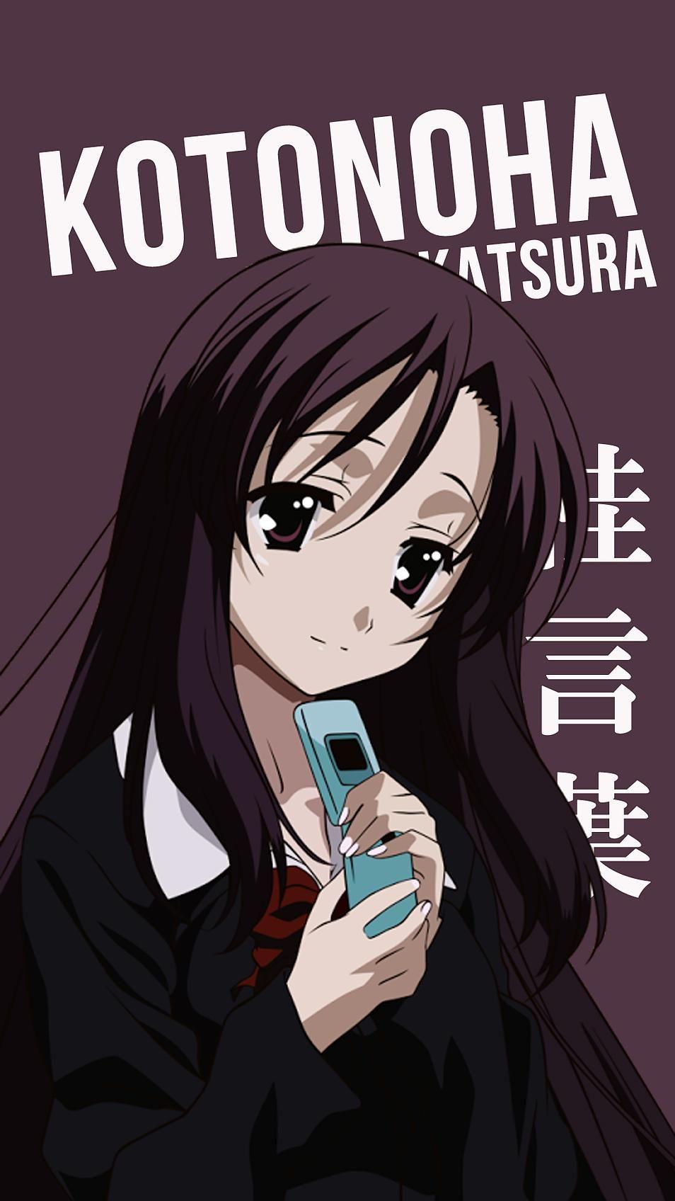 Kotonoha Katsura Korigengi Wallpaper Anime con imgenes 954x1696
