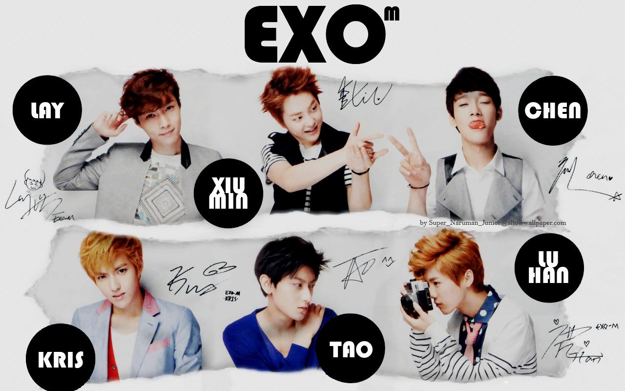 EXO M   EXO M Wallpaper 32392666 1280x800