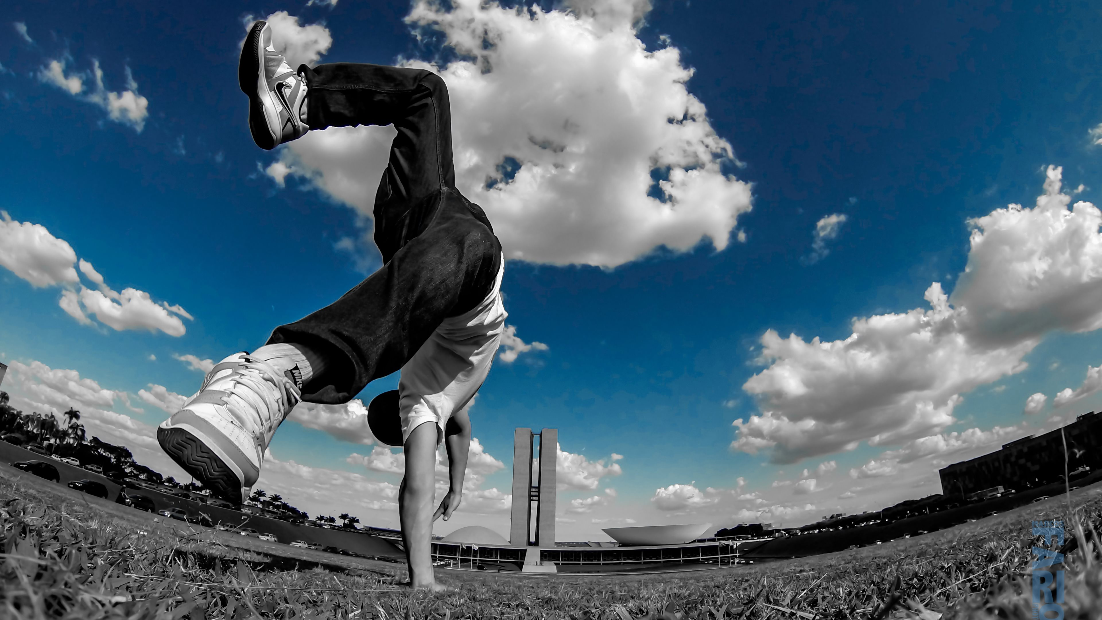 Backflip at Parkour Wallpapers HD Wallpapers 3840x2160