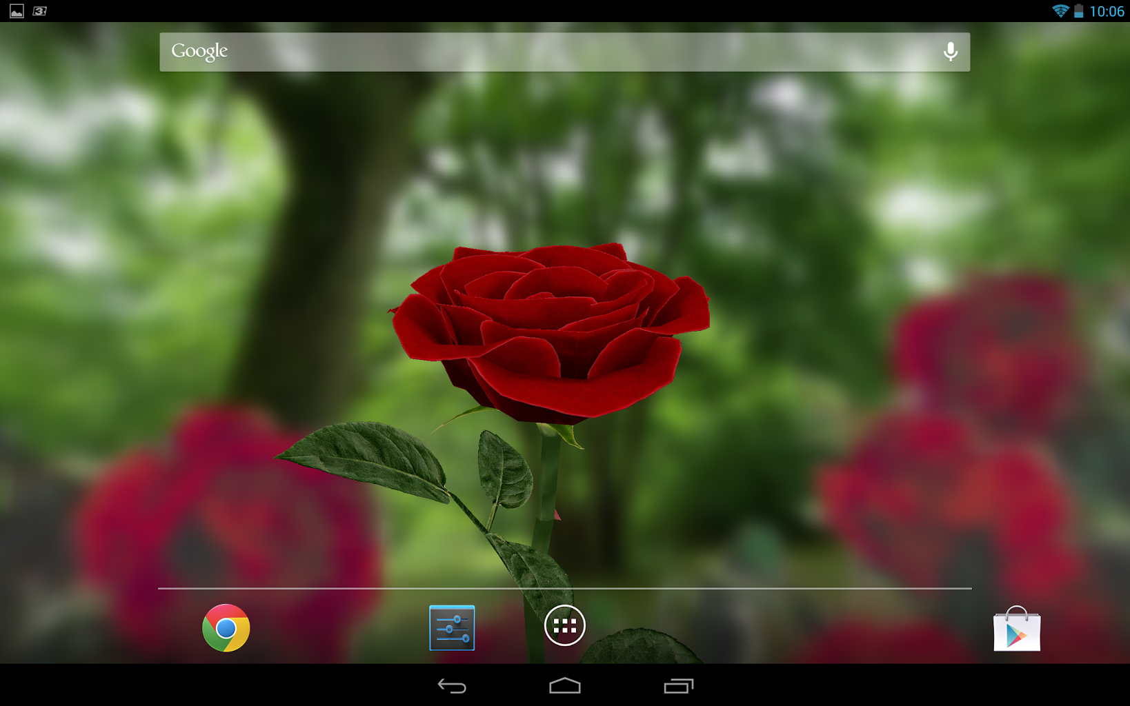 3D Rose Live Wallpaper 40 screenshot 3 1638x1024
