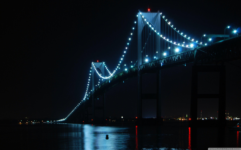 Newport Bridge Rhode Island 4K HD Desktop Wallpaper for 4K 2880x1800