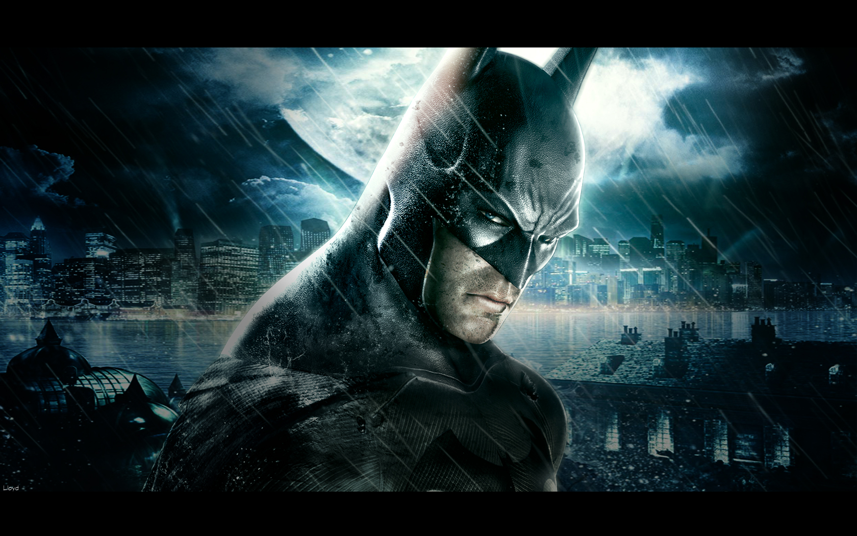 Batman Arkham Asylum Wallpaper By Igotgame 1680x1050 pixel City HD 1680x1050