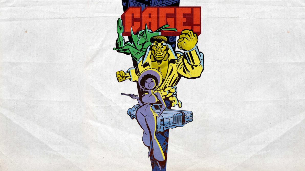 Luke Cage PowerMan Wallpaper by Franky4FingersX2 1191x670