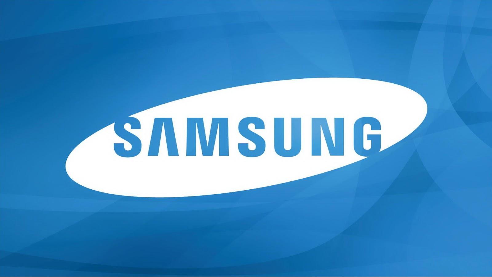 Samsung Logo Wallpaper Blue Colourjpg 1600x901