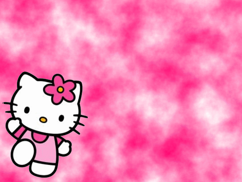Wallpapers Fre Pink Background Hello Kitty Wallpaper 800x600