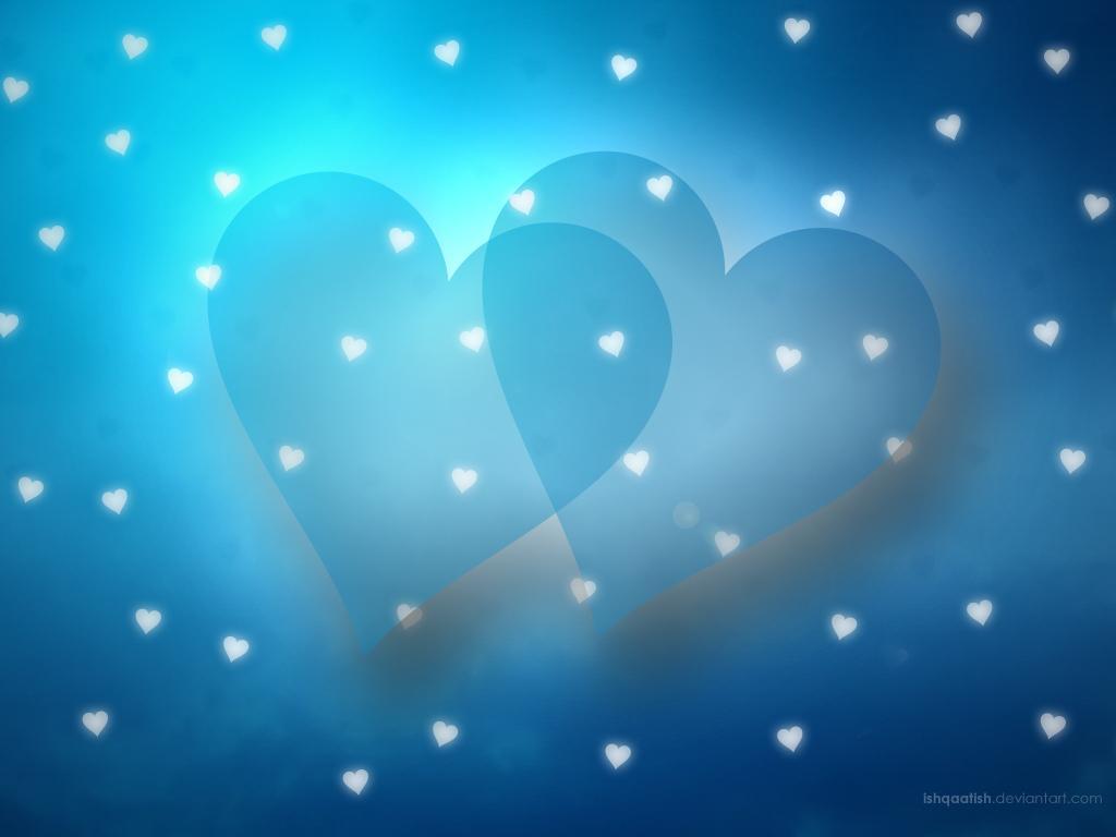 light blue heart background - photo #38