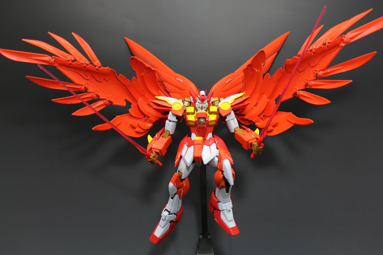 G Work of The Day Wing Gundam Zero Phoenix Tail Feather Ver 1296x864