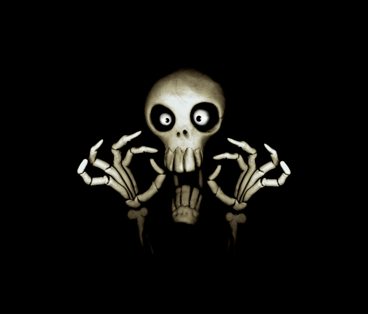 skull wallpaper for windows 7 - photo #41
