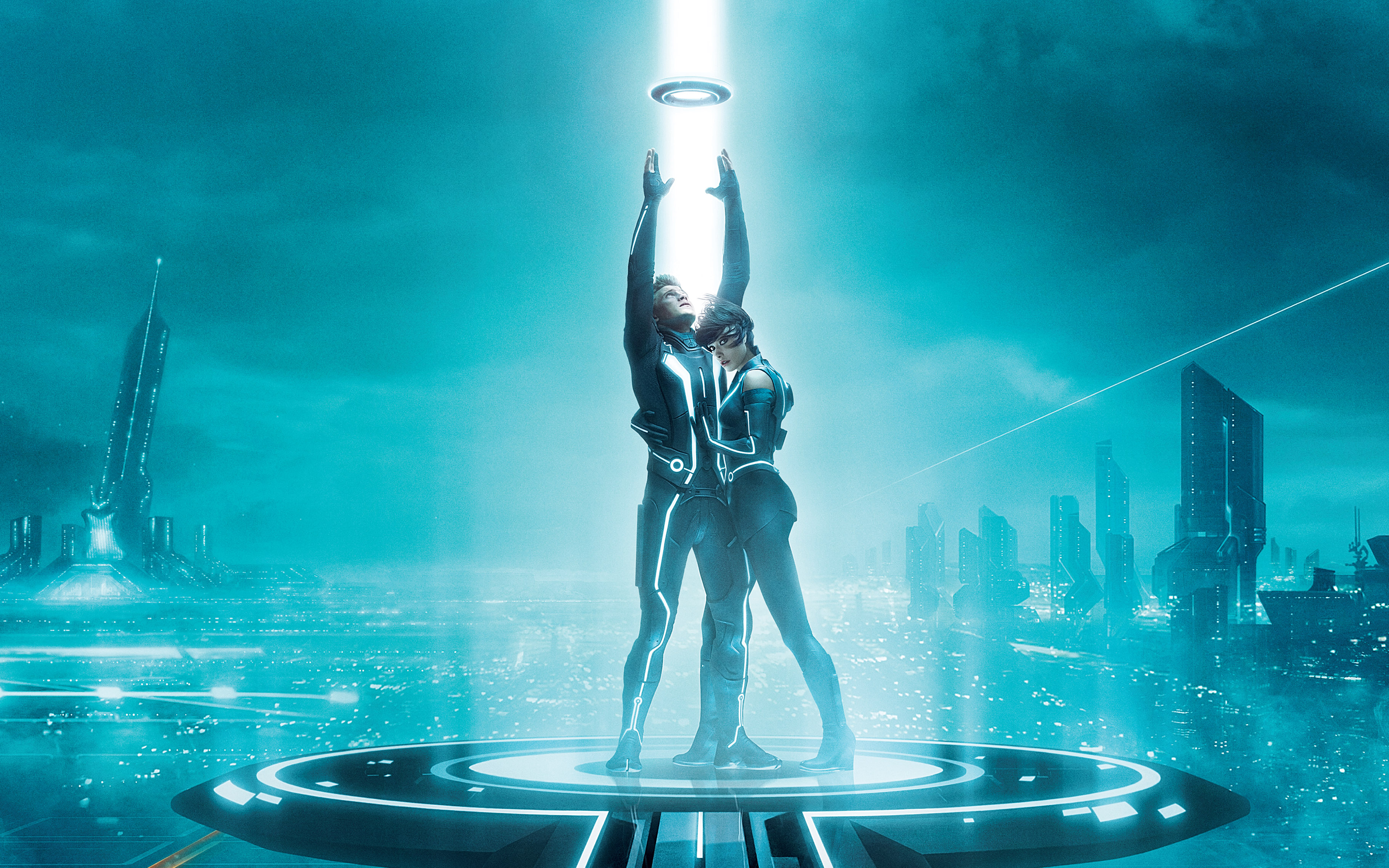 Tron Legacy Extra Large wallpapers 2   HQ Wallpapers   HQ Wallpapers 3645x2278