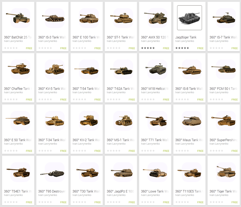 Download Live Wallpapers with WoT models World of Tanks Mods