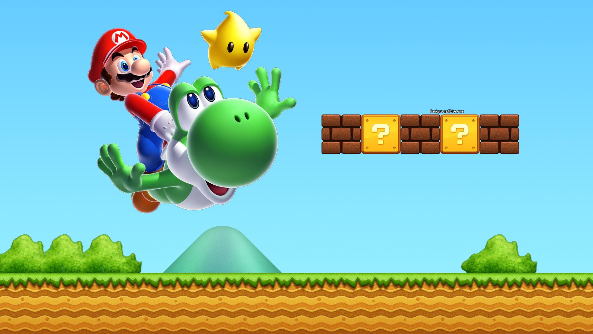 Super Mario Bro Background LatestGames Super mario Mario Games 1920x1080