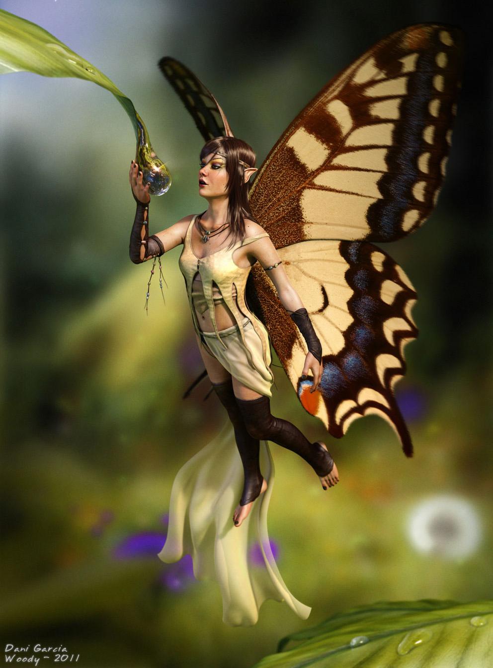 3d fantasy art fairies - photo #1
