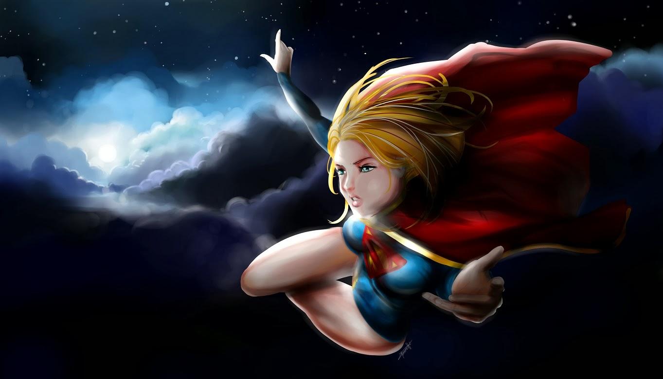 dark supergirl wallpaper - photo #4