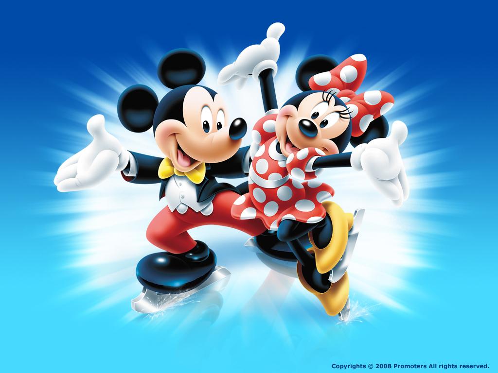 Mickey and Minnie Wallpaper   Disney Wallpaper 6638033 1024x768