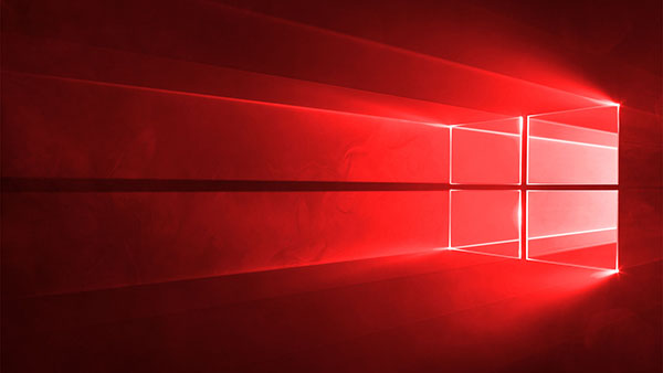 Windows 10 Redstone Wallpaper Bitcrazed 600x338
