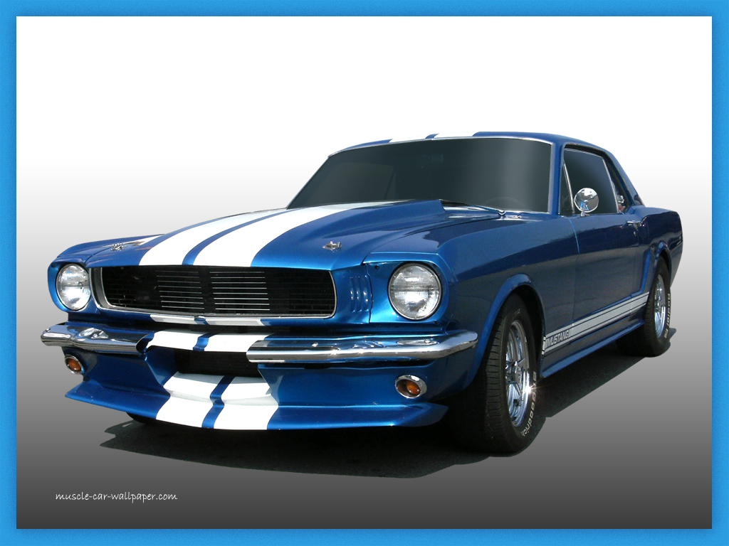 Pin Ford Mustang Muscle Car 1024x768