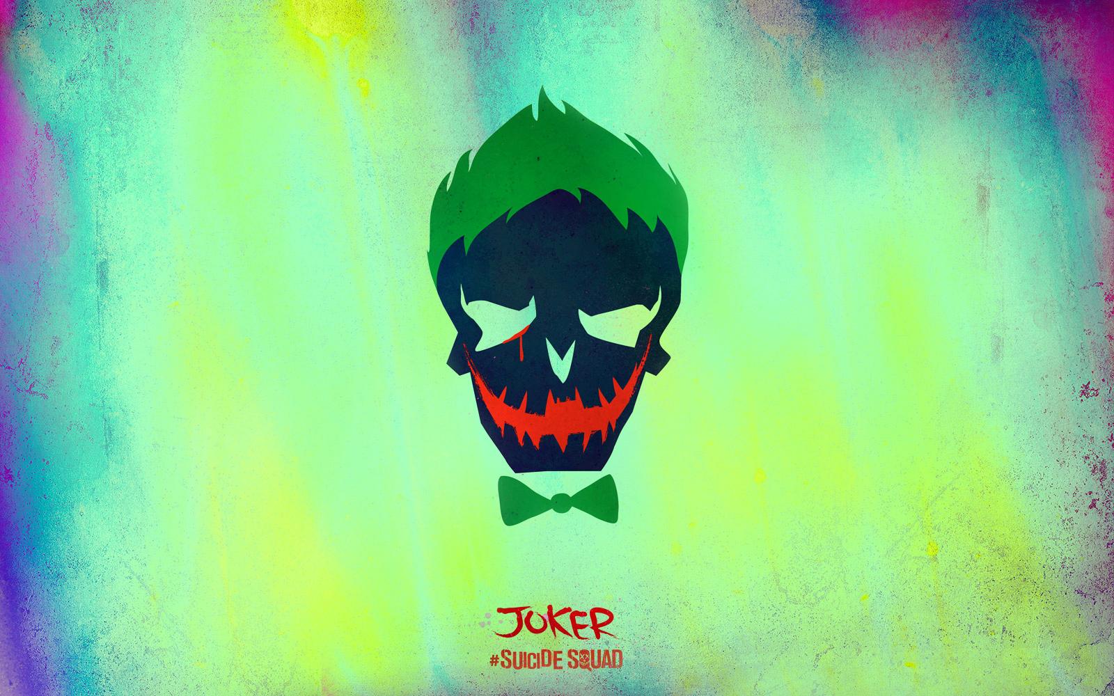 Suicide Squad Skull Wallpaper   The Joker   Suicide Squad 1600x1000