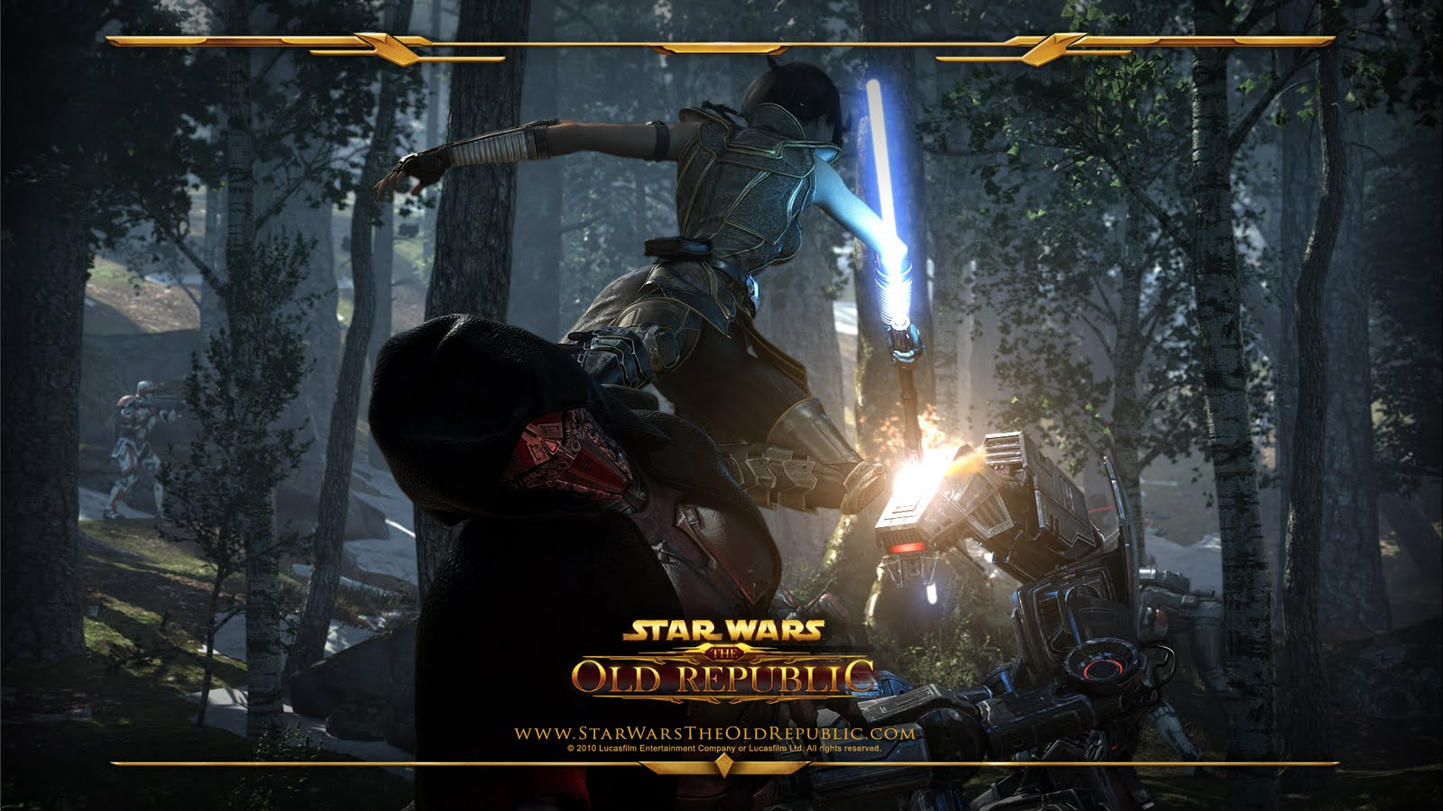 blog tetetuwet Star Wars The Old Republic Wallpaper Collection I 1600x900