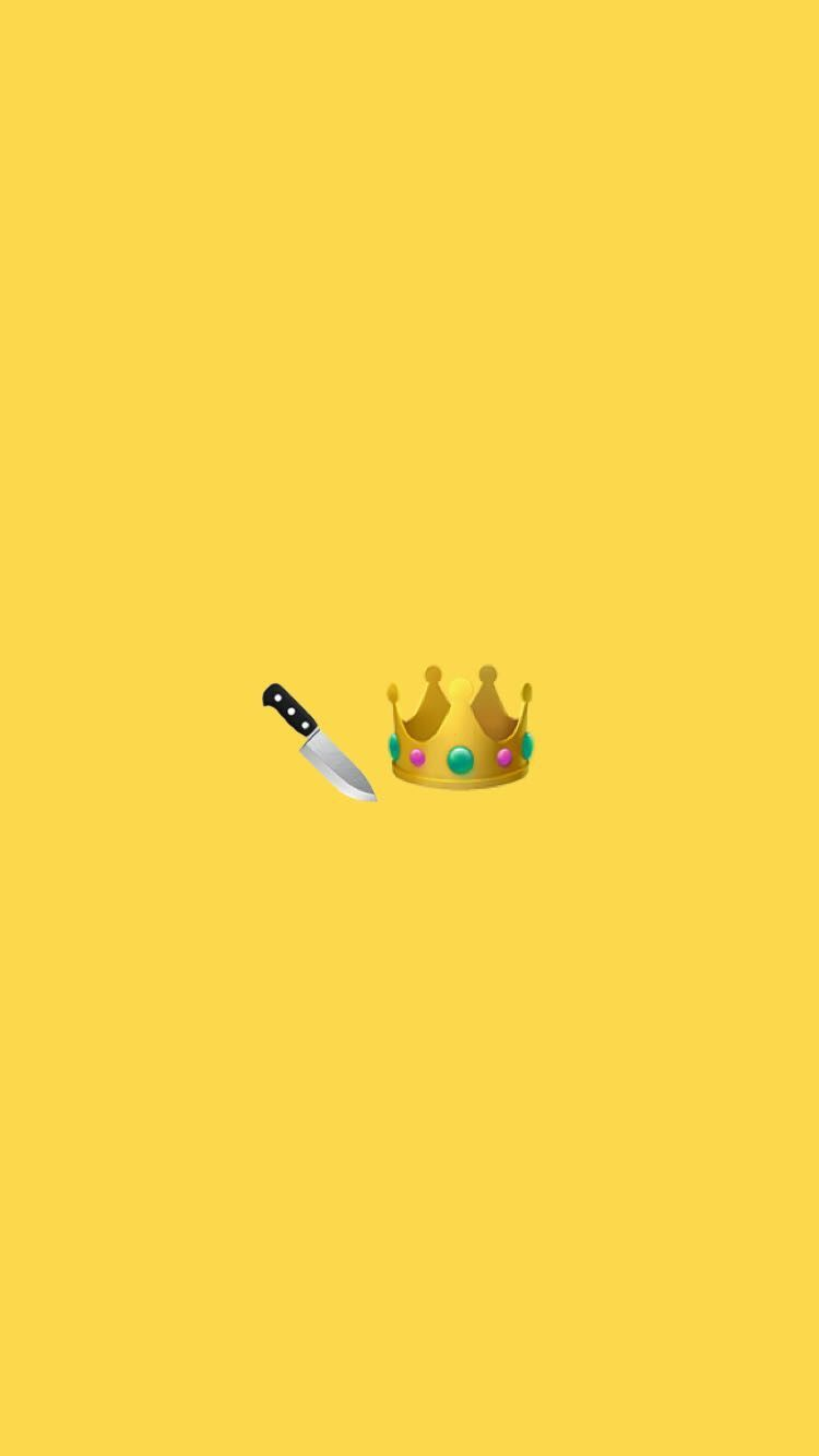 Cute Yellow Slay Queen Snapchat background wallpaper Iphone 750x1334