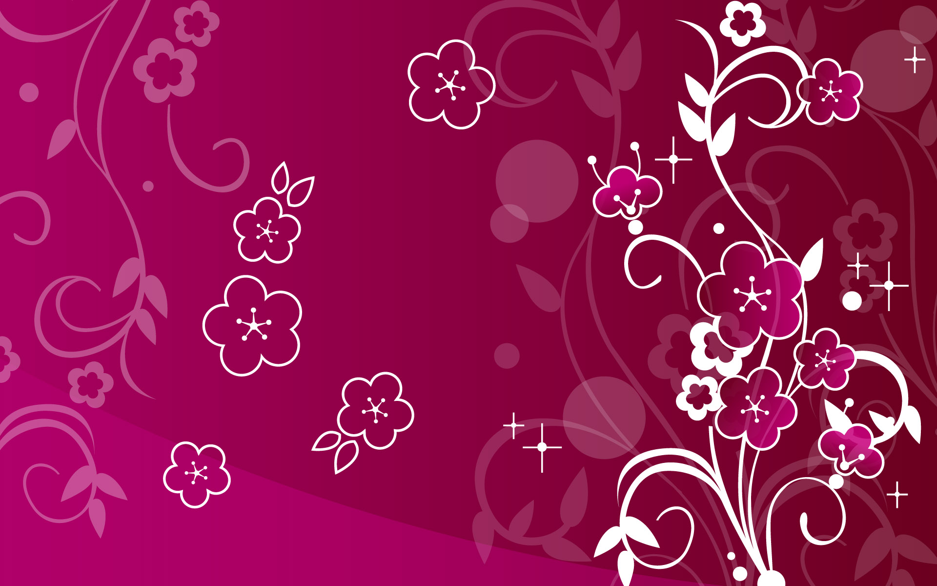 Abstract Flower wallpaper   612511 1920x1200