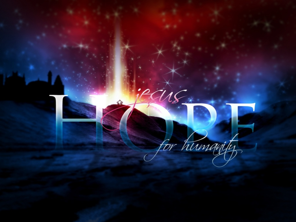 Jesus Gives Us Hope   Jesus Wallpaper 28768008 1024x768