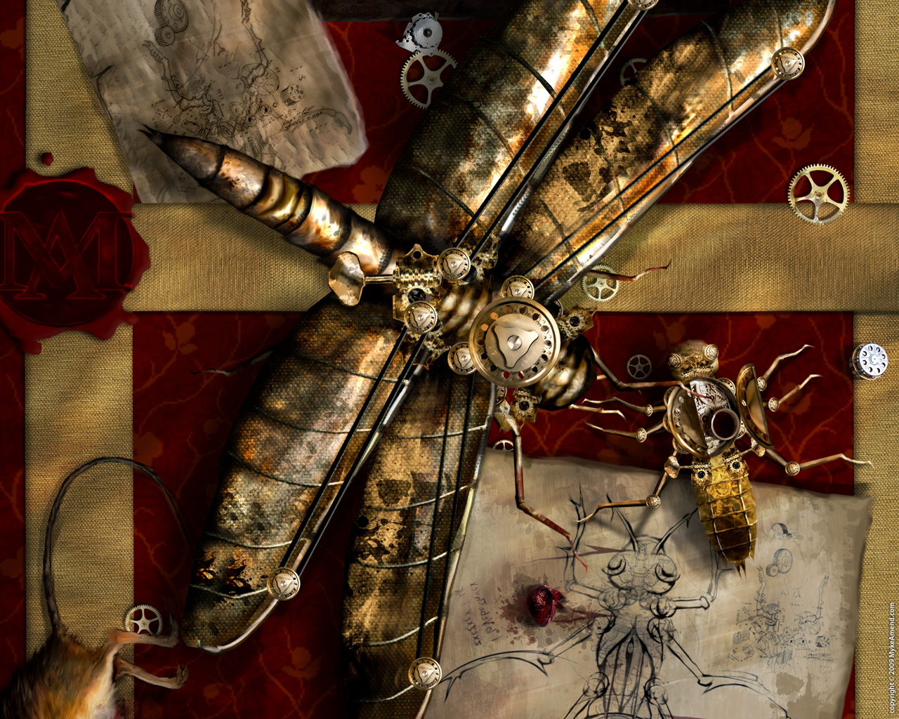 Steampunk Artwork Wallpaper Wallpapersafari