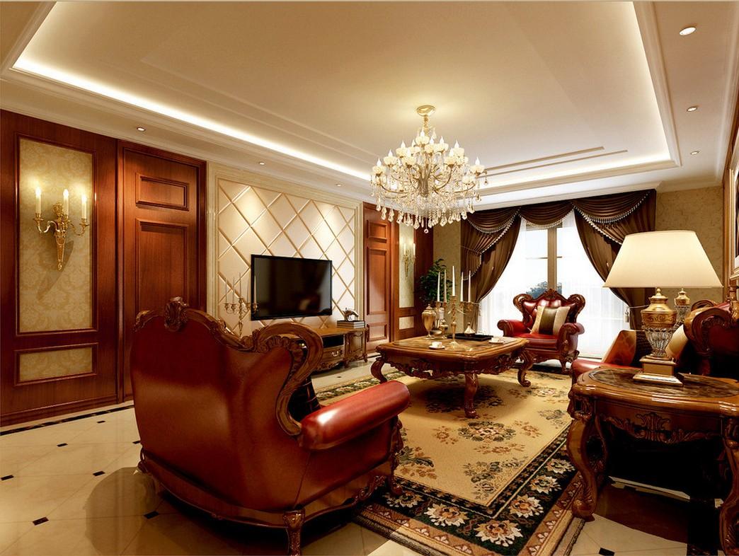 Classic interior design Australian Living 3D house 3D house 1044x786