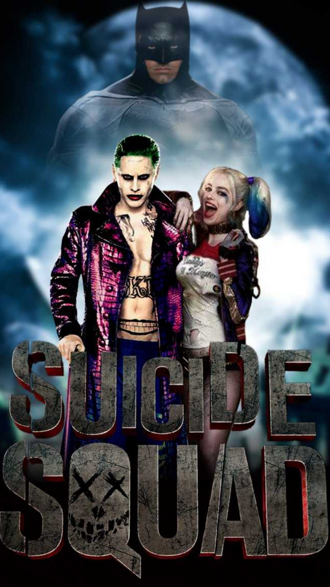 Free IPhone Wallpaper Harley Quinn And Joker 2019