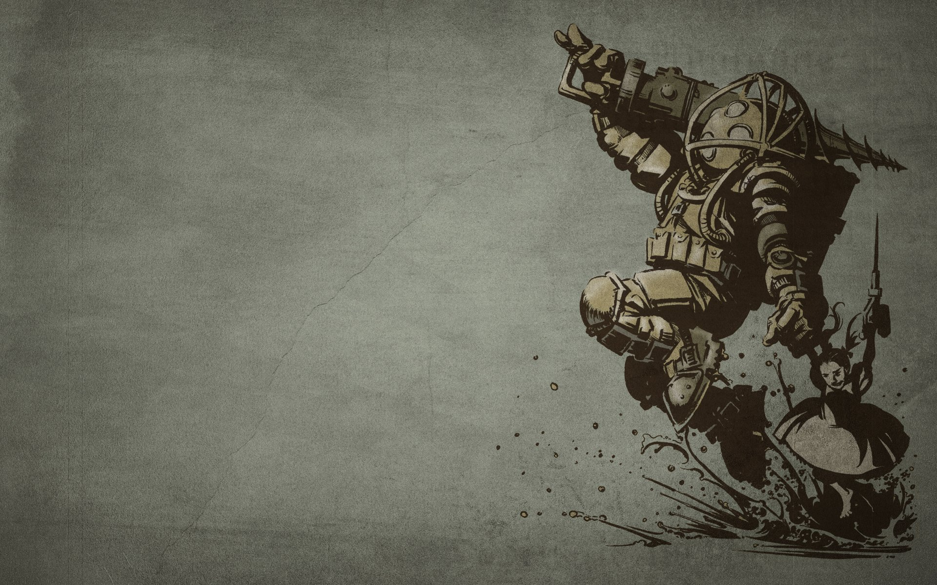 86 Bioshock HD Wallpapers Background Images 1920x1200