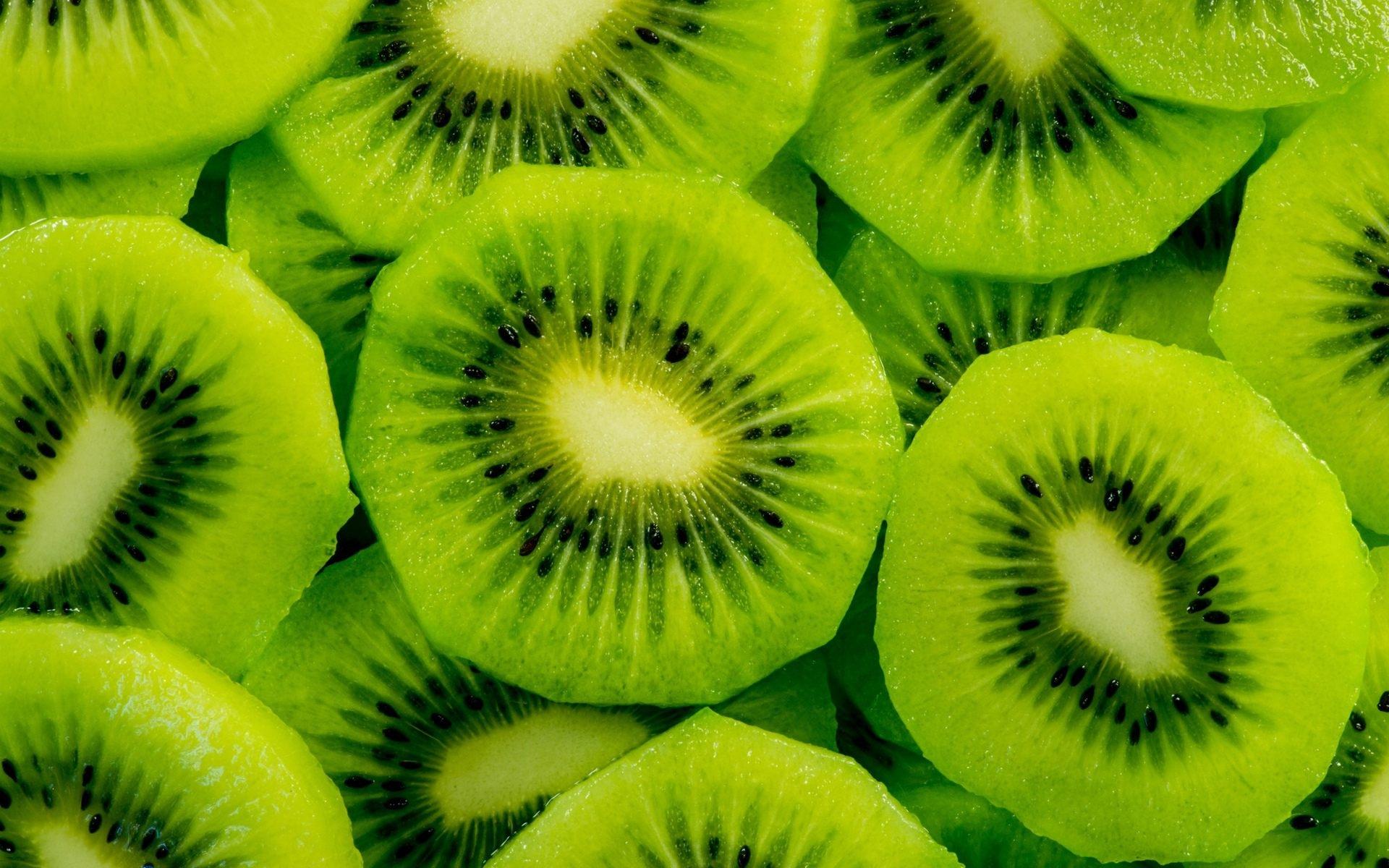 Green kiwi fruit slices wide wallpapers HD Wallpapers Rocks 1920x1200