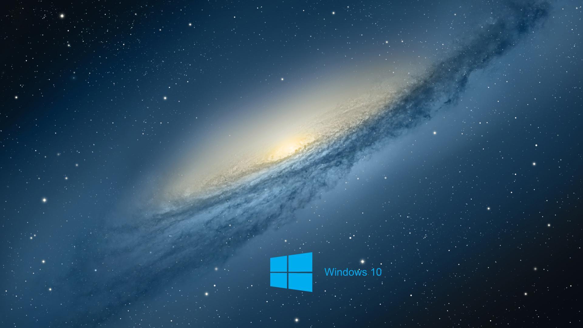 Hd wallpaper windows 10 - Windows 10 Desktop Wallpaper With Scientific Space Planet Galaxy Stars
