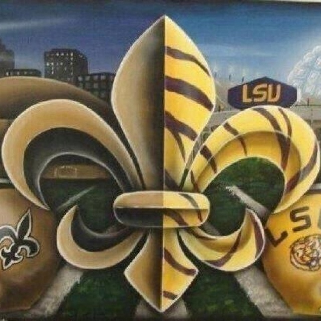 Lsu saints Football season Pinterest 640x640