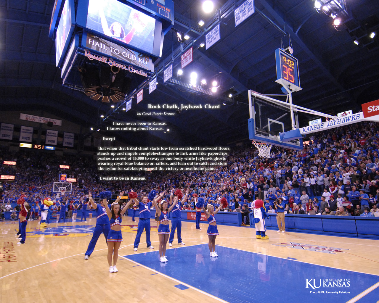 Go Back Images For Kansas Jayhawks Basketball Wallpaper 1280x1024