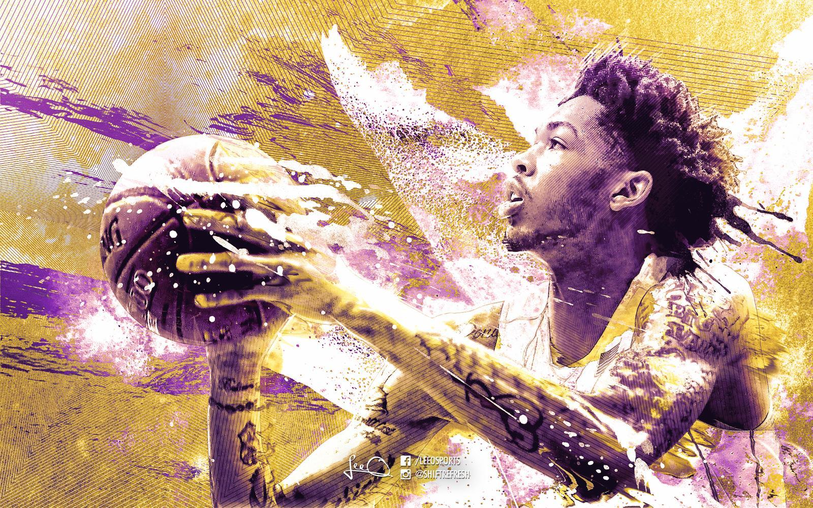Brandon Ingram Lakers Wallpaper by skythlee 1600x1000