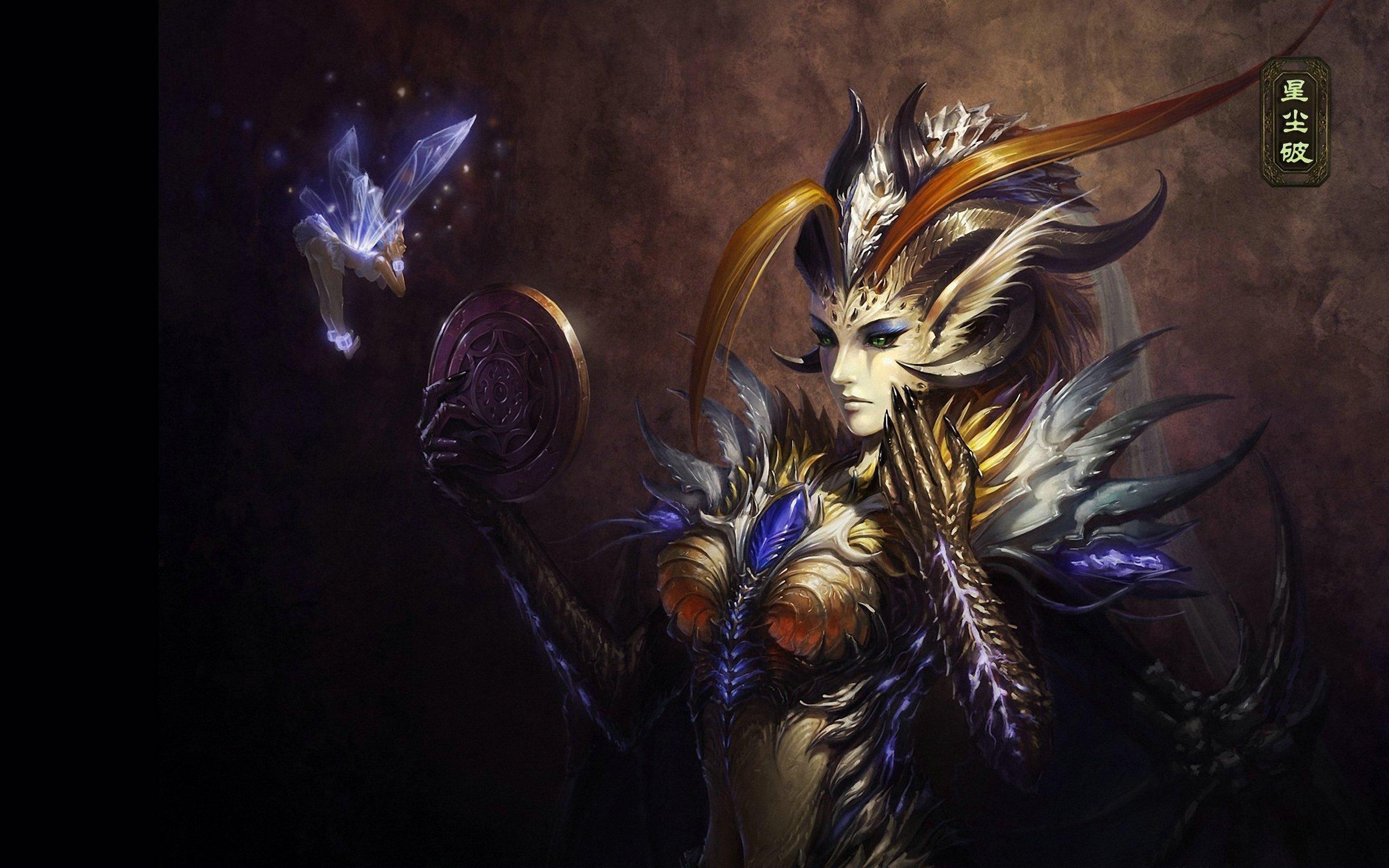 OF ANGELS fantasy angel warrior league angels game loa 6 wallpaper 2560x1600