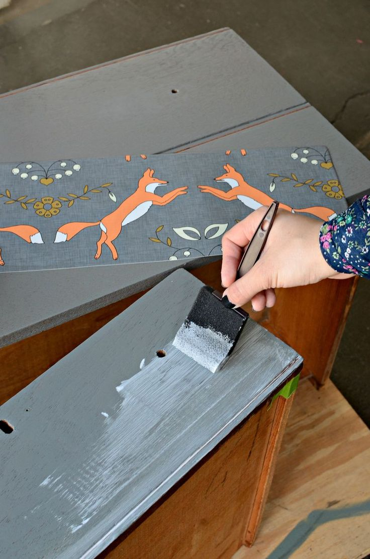 Applying Wallpaper to furniture Try Pinterest 736x1111
