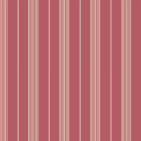 Red Tailor Stripe Wallpaper   Wall Sticker Outlet 600x600