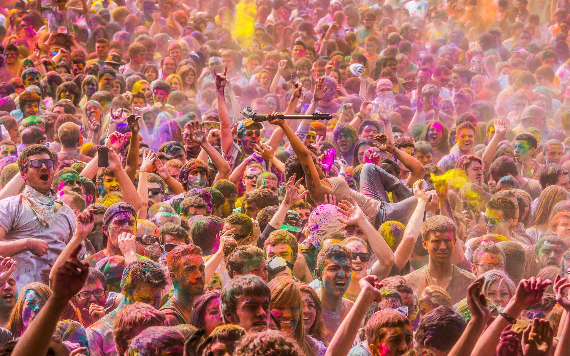 festival of colors Full HD Wallpaper and Background ...