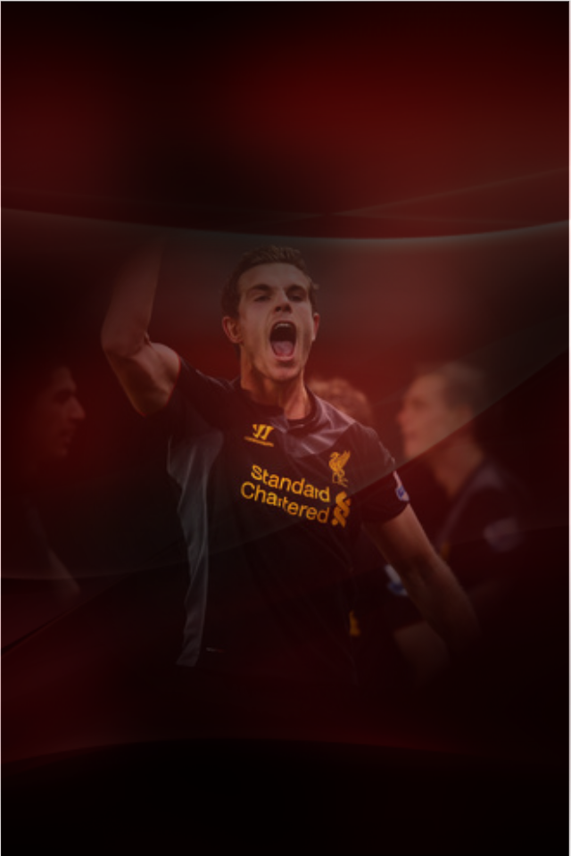 Jordan Henderson Iphone 4S Wallpaper by ErikJ0H 640x959