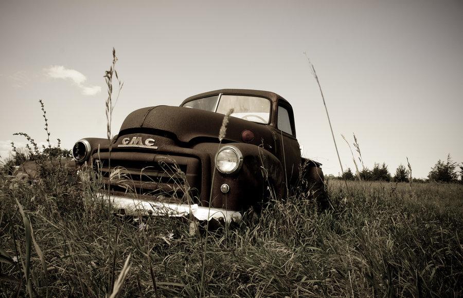 Old Farm Truck Wallpaper 900x581
