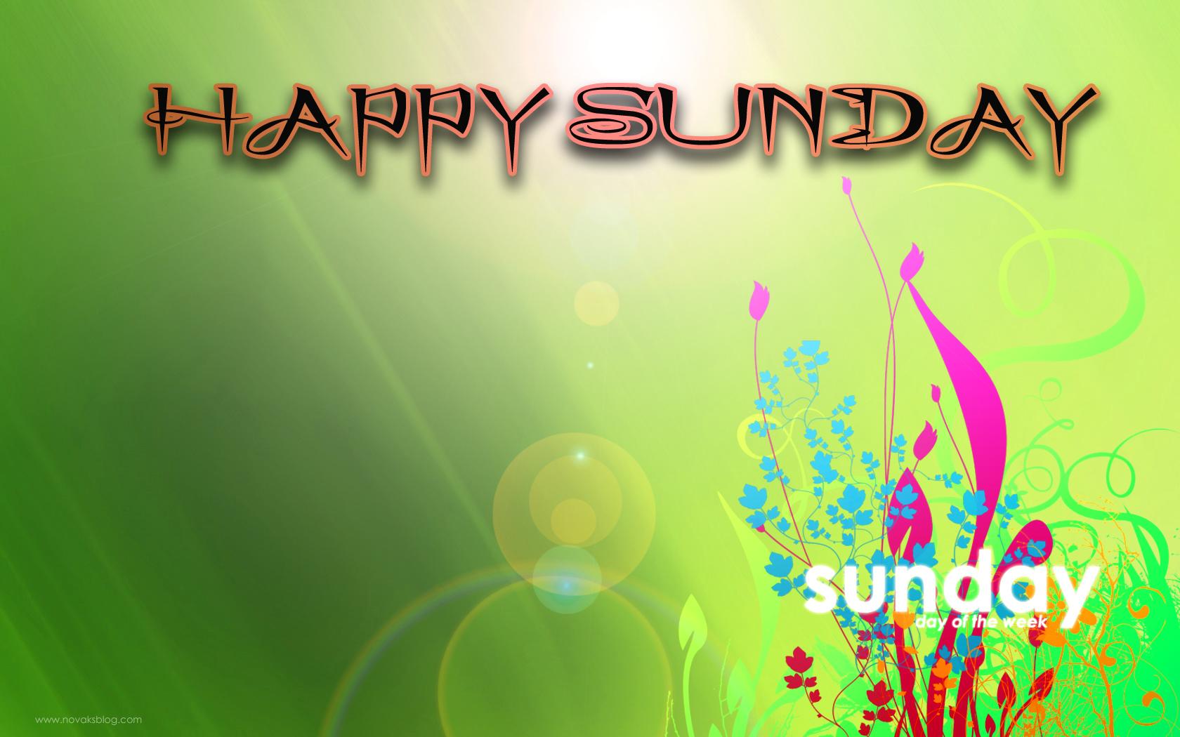 Blessed Sunday Wallpaper