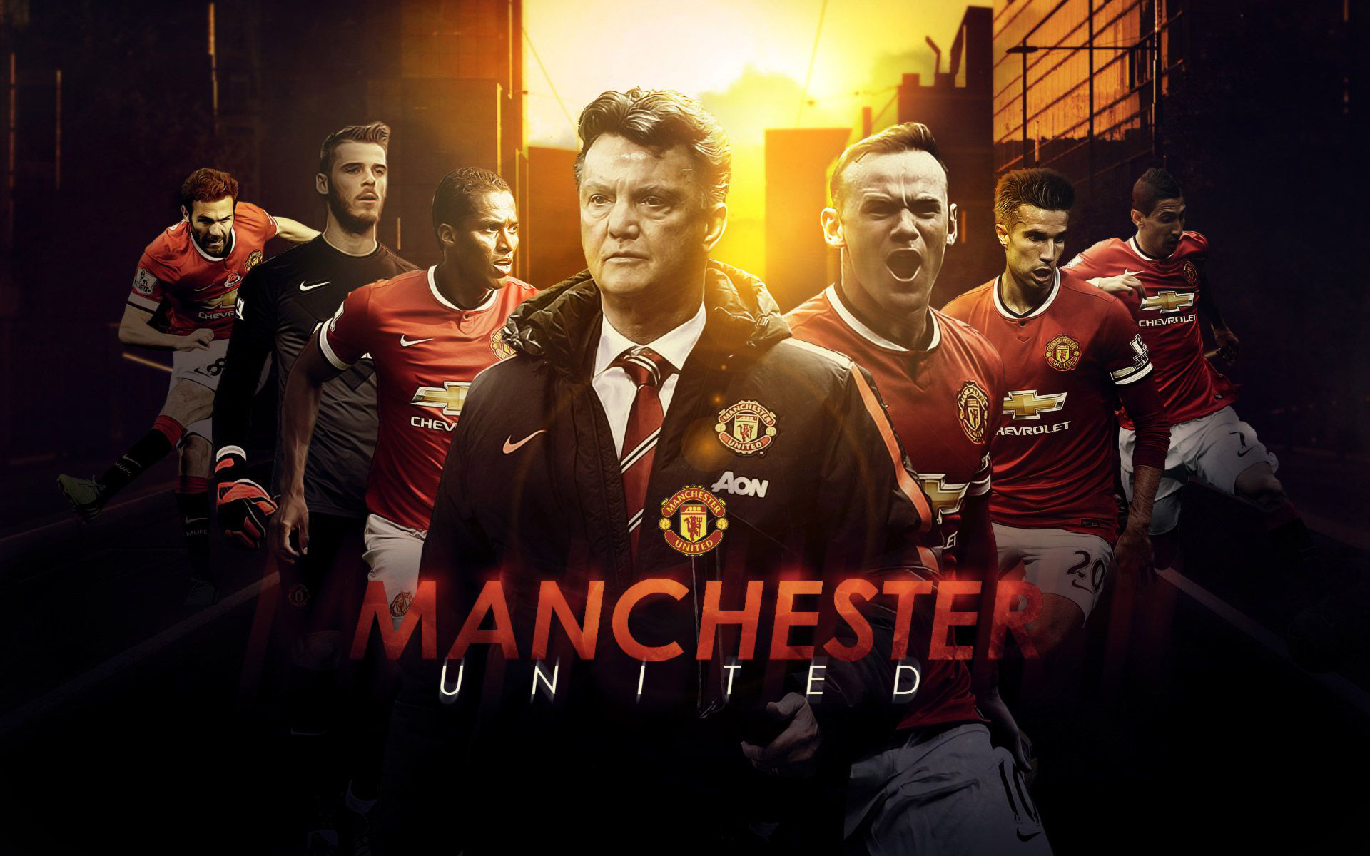 Manchester United Wallpapers HD 1920x1200