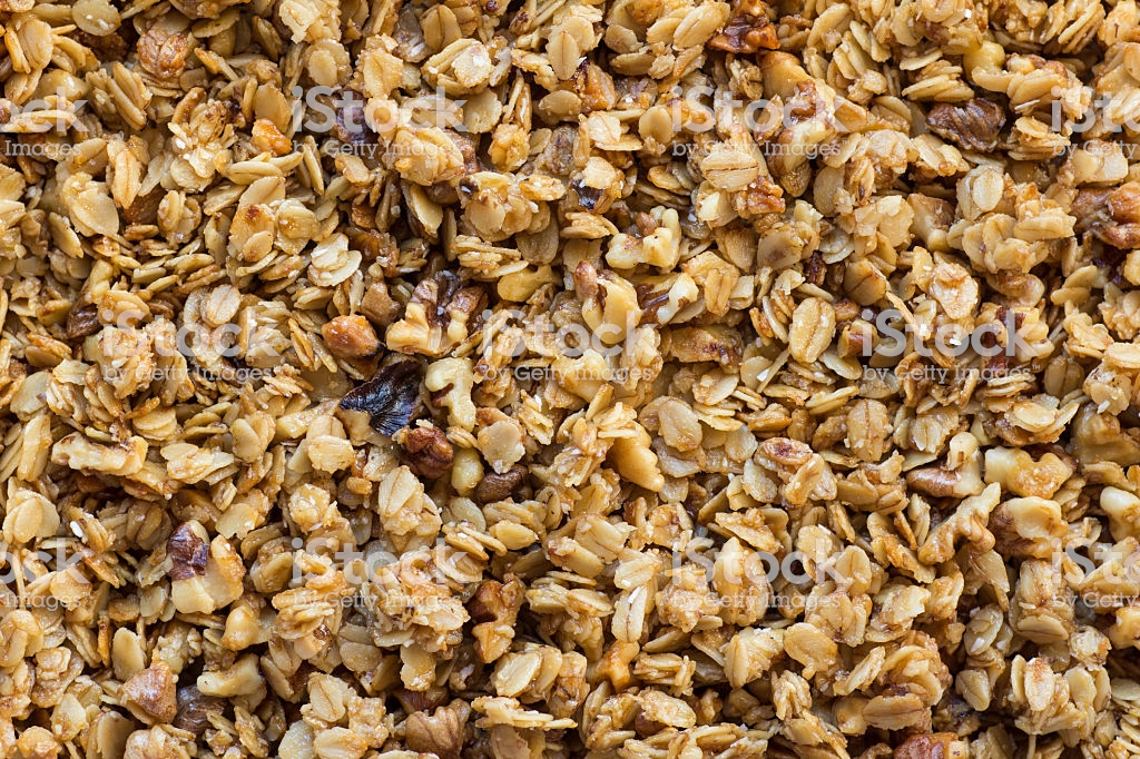Granola Background Stock Photo   Download Image Now   iStock 1024x682