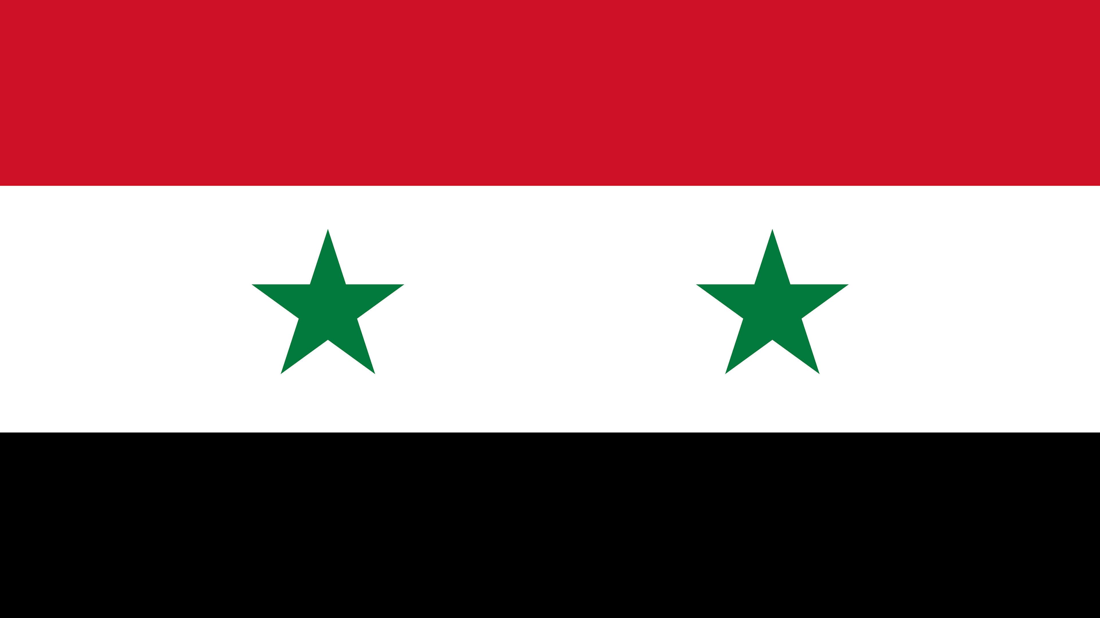 Syria Flag UHD 4K Wallpaper Pixelz 3840x2160